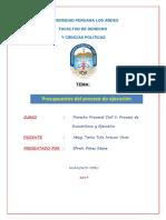 EPS Presupuestos Proceso Ejecutivo