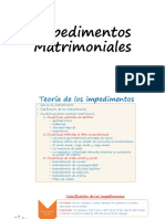Impedimentos Matrimoniales