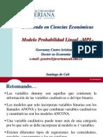 Modelo Probabilidad Lineal