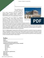 Arquitectura - Wikipedia, La Enciclopedia Libre
