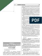 Aprueban El Reglamento de Organización y Funciones de La OEFA (Diario El Peruano)