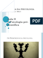 1psicologia Pré Científica