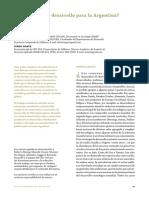 Schteingart - Qué Modelo de Desarrollo Para Argentina