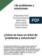 Árbol de Problemas y Soluciones