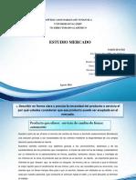 Formación Empresarial - Estudio de Mercado