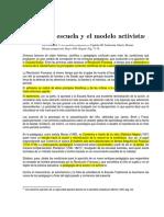[JulianDeZubiría-1999]LaEscuelaNuevaYElModeloActivista