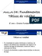 Fundamentos táticos do voleibol