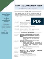 Maria Curriculum 07-2019