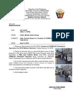 AAR of MPG Dated June 2, 2019