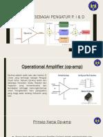 Op-Amp Sebagai Pengatur P, I & d