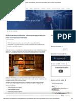 Bibliotecas especializadas_ información especializada para usuarios especializados.pdf