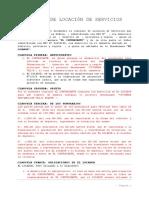 Modelo de Contrato de Locacion de Servicios Arq