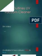 MMX Outlines UV Vacuum Cleaner 2