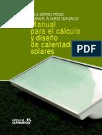 diseño de calentadores solares