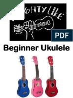 Ukulele Practice Book