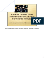 Theories Universe Ppt Notes