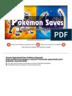 Cheats Gameshark Para Pokémon Emerald ~ Pokemon Saves.pdf