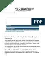 Documento Direitos d Consumidor