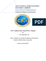 Tlc Peru - Singapur