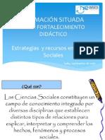 Estrategias de Trabajo en Ciencias Sociales