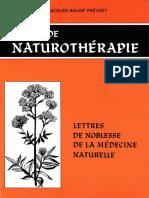 Baugé-Prévost Jacques - Précis de Naturothérapie