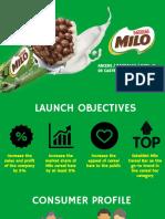 Milo Cereal Bar Final Presentation
