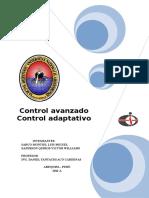 Control adaptativo