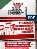 Perjuangan Mempertahankan Integrasi Bangsa Indonesia