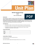 ecu unit plan