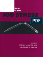 Sauter S.L., Murphy L.R. - Organizational Risk Factors for Job Stress (1995)
