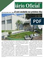 Diário oficial de São Carlos/sp