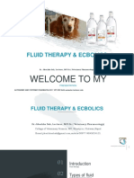 Fluid Therapy & Ecbolic Lecturer notes-Dr.Jibachha Sah,M.V.Sc(Vet.Pharmacology)
