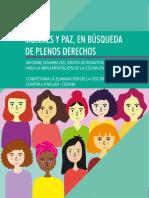 Informe Mujer Paz enColombia