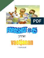 Parashat Vaetjanán # 45 Inf 6019