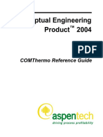 Aspen Distil Com Thermo Reference Guide