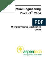 Aspen Distil Thermodynamic Workbench Guide