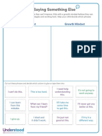 fixed vs growth mindset activity for younger kids