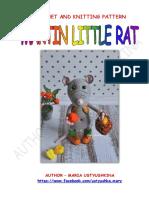 amigurumi raton