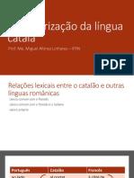 Caracterização Da Língua Catalã