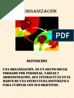 1 La Organización