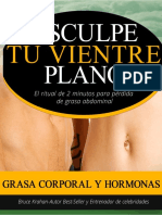 vientre plano evita la grasa corporal