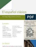 El Español Clásico