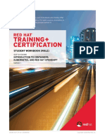 Redhat Documentation for Do180 3.9 Student Guide