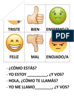 Emojis Spanish Lesson