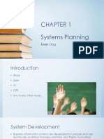 PHASE 1 - Chapter 1 Systems Planning