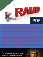 Ethics - Report on Fraud