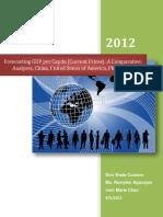 Basic Forecasting Paper Sample