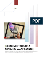 Econ Paper;Economic Tales of a Minimum Wage Earner