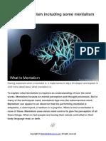 What is a Mentalist Including Mentalism Secrets PDF