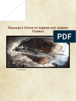 Deanaras Guide to Airhips and Airship Combat